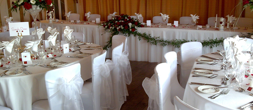 function accessories chair covers white wood desk no wheels sashes tie backs cord tassels napkins