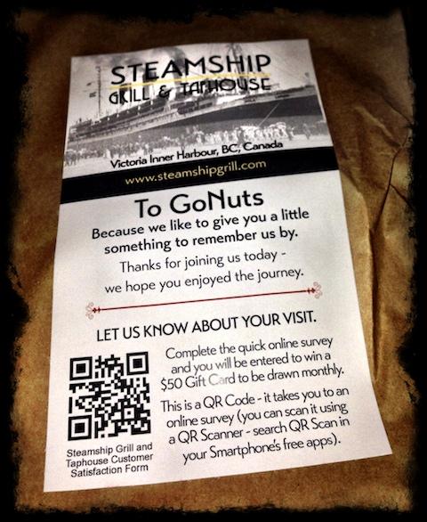 Steamship ToGoNuts...