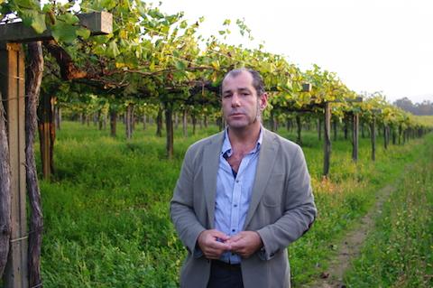 Antonio Ruiloba Molins at Bodega La Val