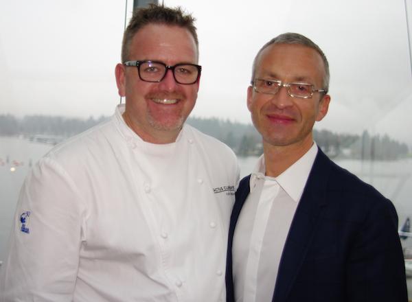 Cactus Club exec chef Rob Feenie and sommelier-service director Sebastien Le Goff