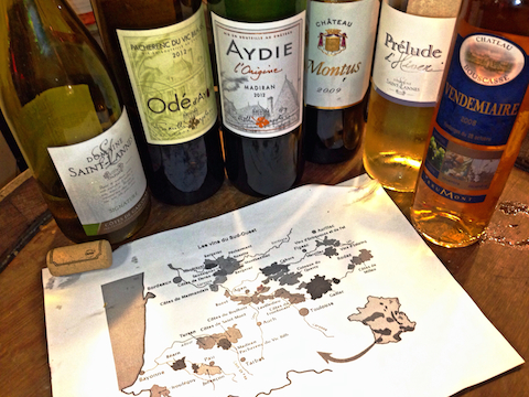 Various south west France wine