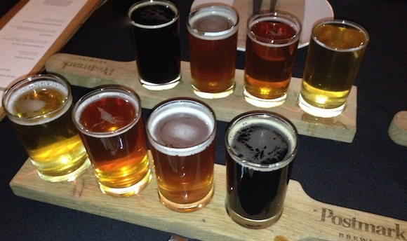 Dine Out beer at Postmark Brewing