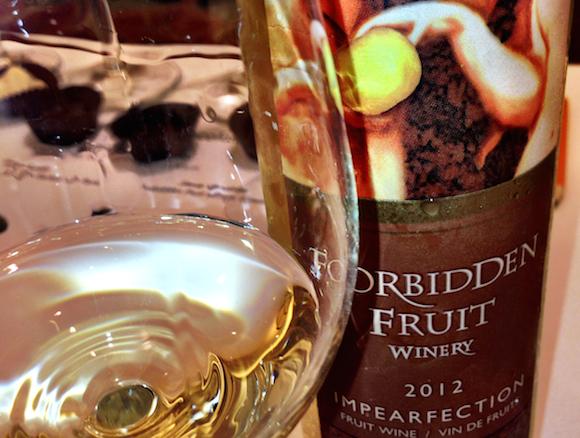 Forbidden fruit wine Impearfection