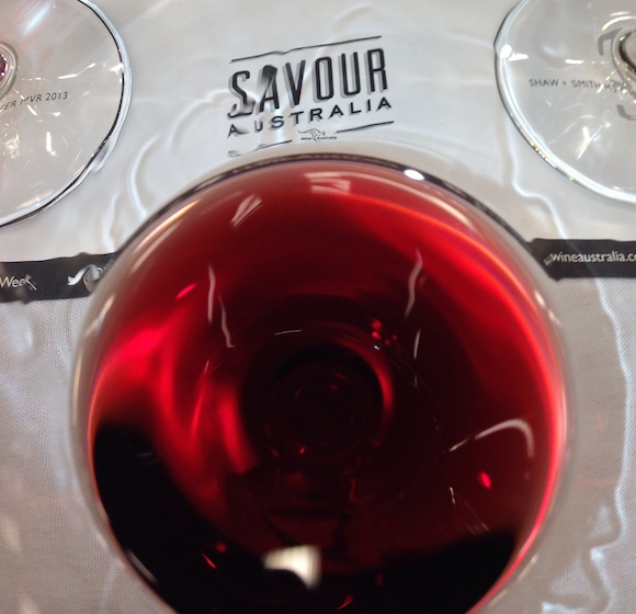 Savour Australia and glass