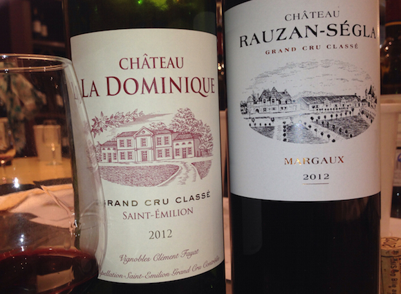 Some worthy picks from the BCLS 2012 Bordeaux release