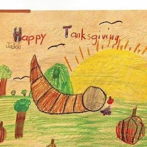Happy Thanksgiving kids drawing - Tri-Valley