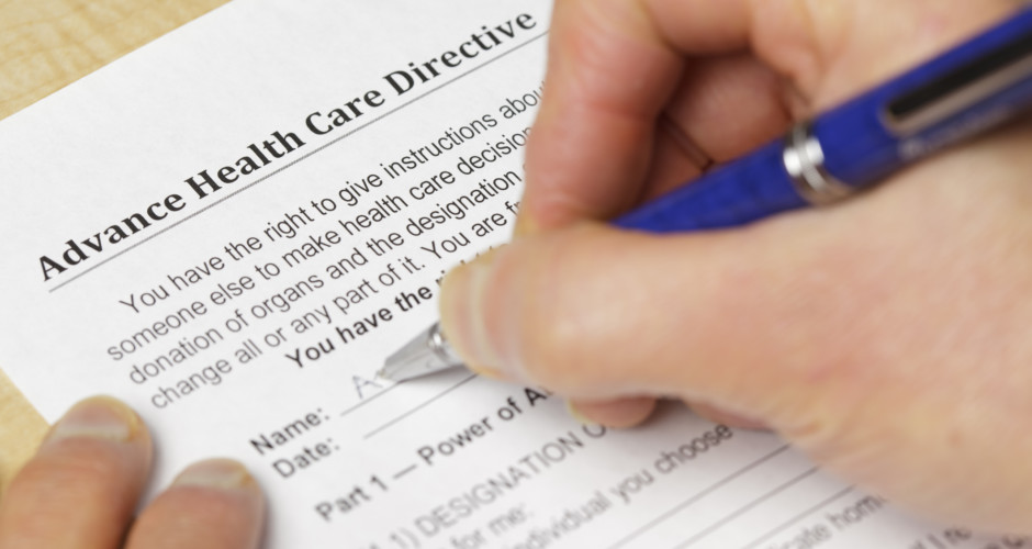 Advance Health Care Directives Provide Peace of Mind