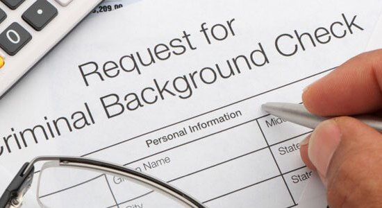 criminal background check for employment