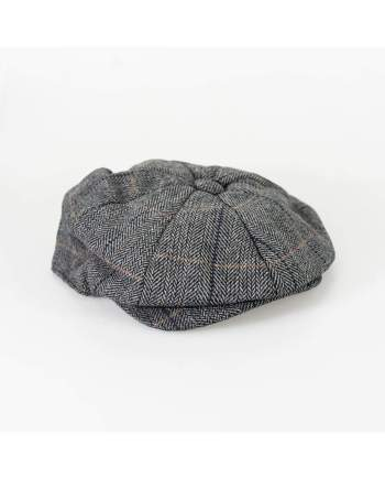 Cavani Albert Grey Baker Cap - S/M - Accessories