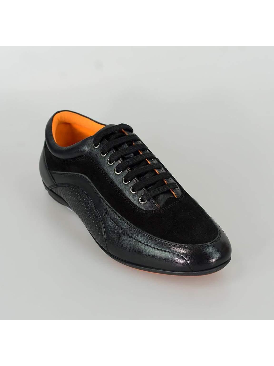Cavani Brad Mens Black Fashion Shoes - Shoes