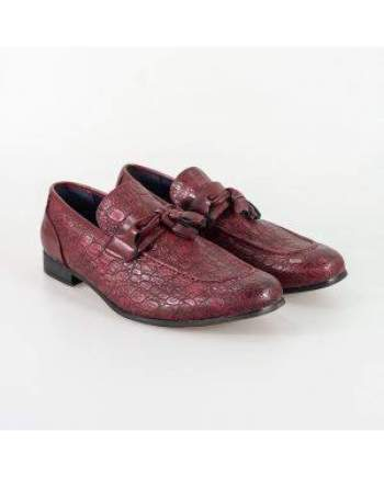 Cavani Brindisi Dark Red Shoe - Shoes