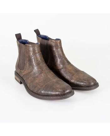 Cavani Bristol Brown Mens Boots - Boots