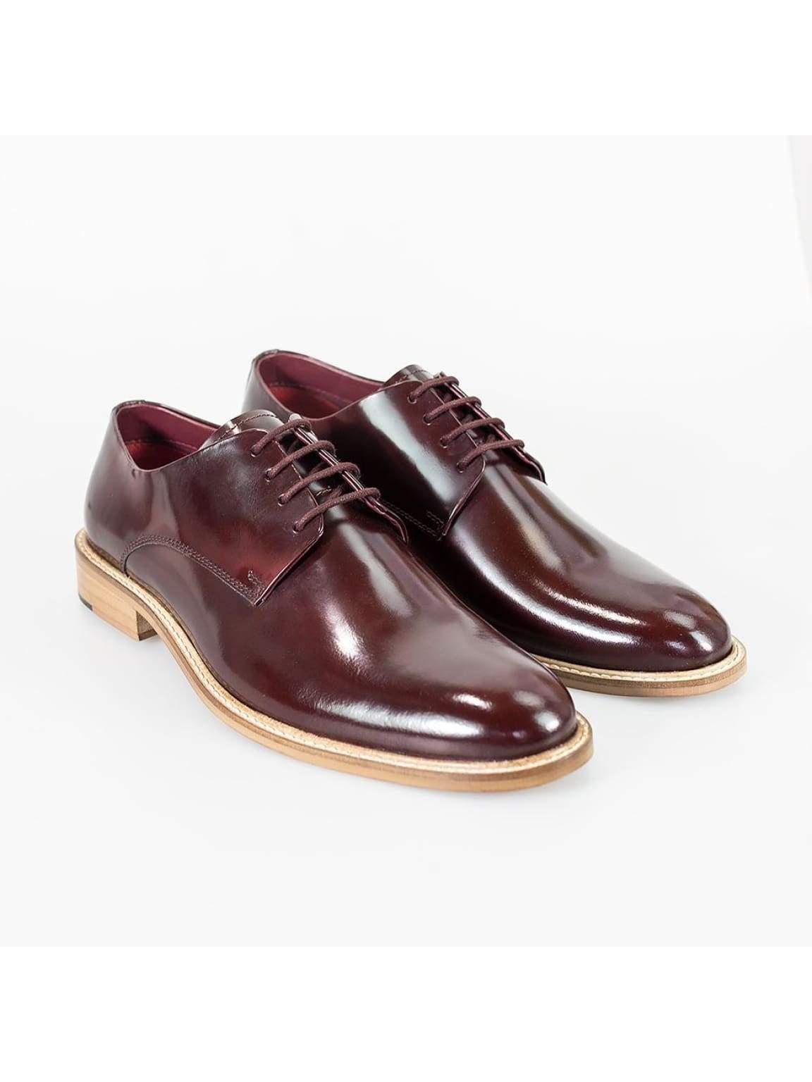 Cavani Foxton Bordo Shoe - UK7 | EU41 - Shoes
