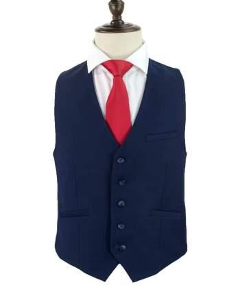 Cavani Jefferson Navy Tweed Waistcoat - 36 - Suit & Tailoring