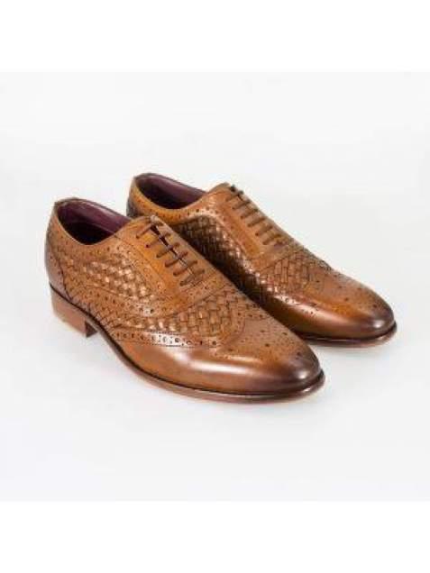 Cavani Orion Tan Mens Leather Shoes - UK7   EU41 - Shoes