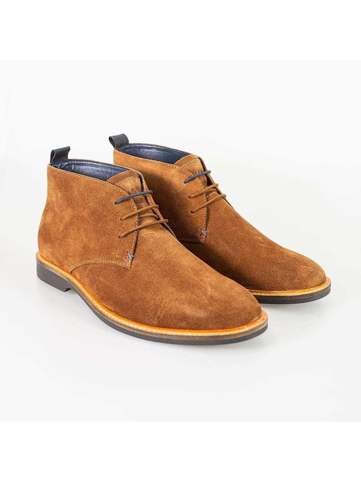 Cavani Sahara Tobacco Mens Leather Boots - UK7 | EU41 - Boots