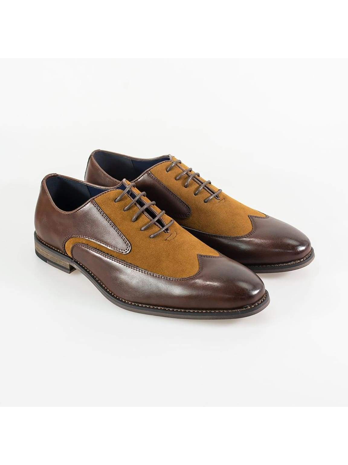 Cavani Tate Brown/Tan Mens Shoe - UK7 | EU41 - Shoes