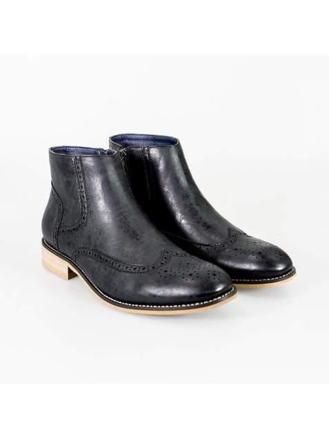 Cavani Westland Black Mens Leather Boots - UK7 | EU41 - Boots