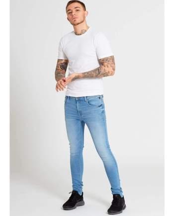 Drax Light Blue Super Skinny Jeans - Jeans