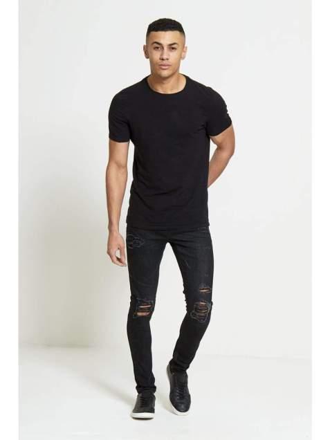 HAVOC Super Skinny Jeans In True Black - Jeans