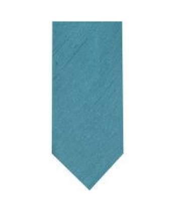LA Smith Teal Skinny Shantung Tie - Accessories