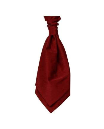 Mens LA Smith Wedding Pre-Tied Cravats - Red - Accessories