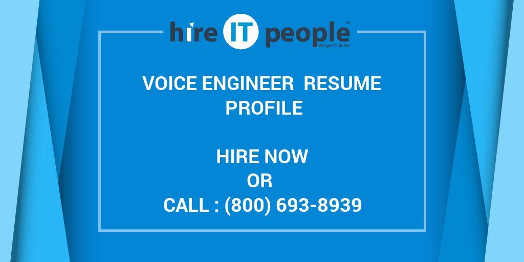 Cisco Voice Engineer Sample Resume | brandforesight co