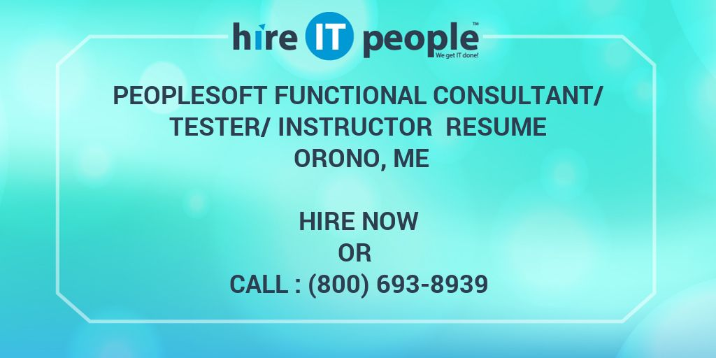 Peoplesoft Financial Tester Cover Letter - Cover Letter ...