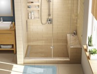 How to tile a shower (wall and floor)