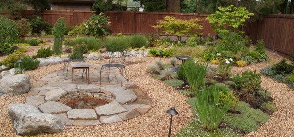 gravel landscape pros of