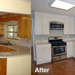 Repaint Kitchen Cabinets Small Corner Hutch How To Refinish Without Stripping Hirerush Blog Refinishing Before And After
