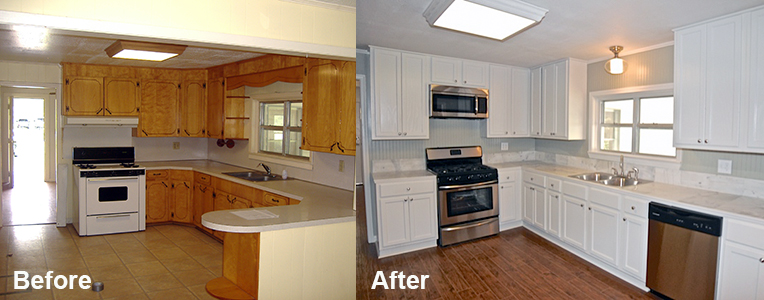 how to refinish kitchen cabinets without stripping aid toaster oven ...