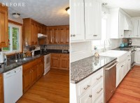 How to refinish kitchen cabinets without stripping ...