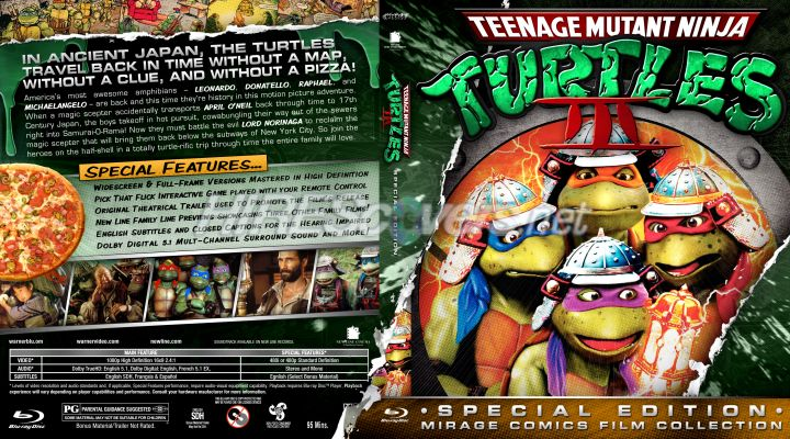 Teenage Mutant Ninja Turtles III cover