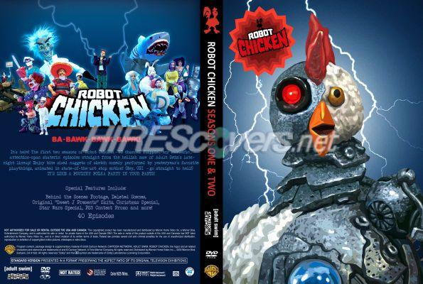 DVD Cover Custom DVD covers BluRay label movie art  DVD CUSTOM Covers  R  Robot Chicken