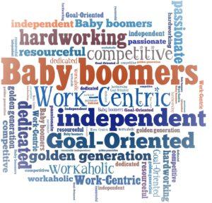 Baby Boomer Word Cloud