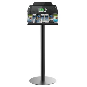 ChargeTech Tower Floor Stand Cell Phone Charging