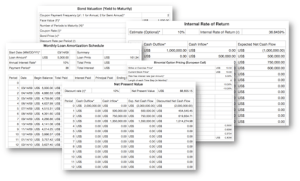 Financial Spreadsheets and Business FInancing