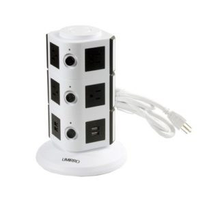 Umirro 10-Outlet Power Strip with 4 USB Charging Ports