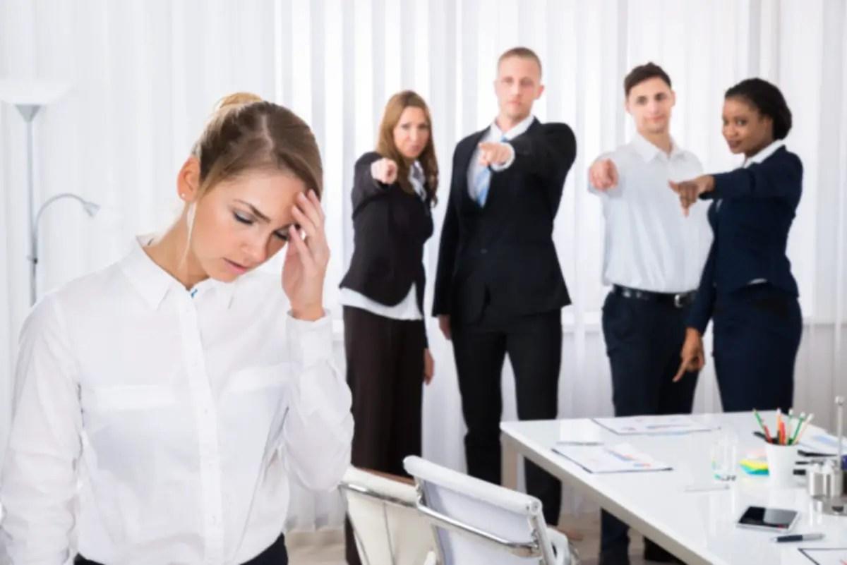 FrustratedFemaleColleagueInOffice