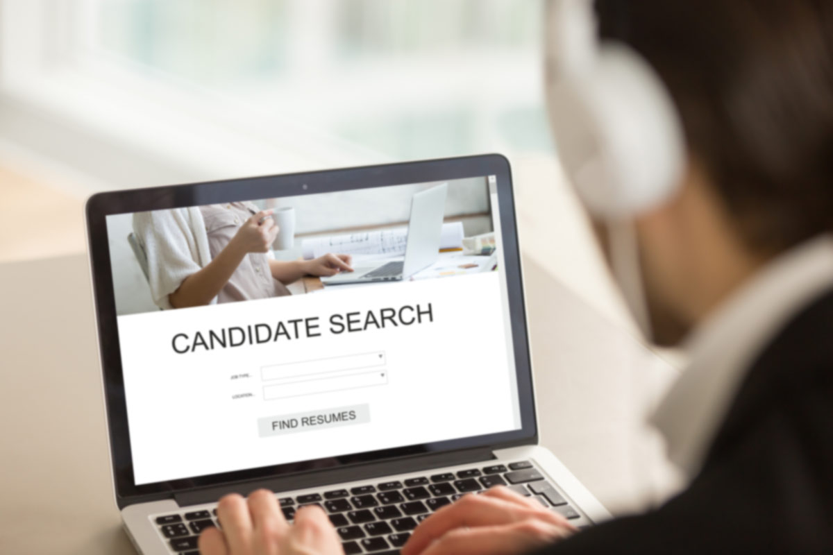 Employer Searching For Candidates