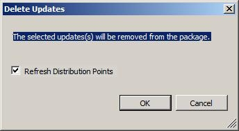 Delete Updates