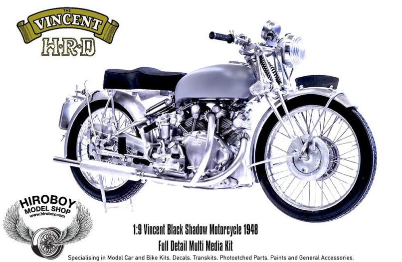 1 9 Hrd Vincent Black Shadow Motorcycle