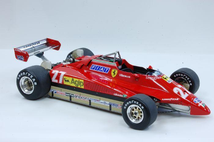 112 Ferrari 126C2 ver A Brazil GP  MFH K433  Model Factory Hiro