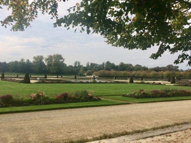 フォンテーヌブロー宮殿の庭園に [その2]