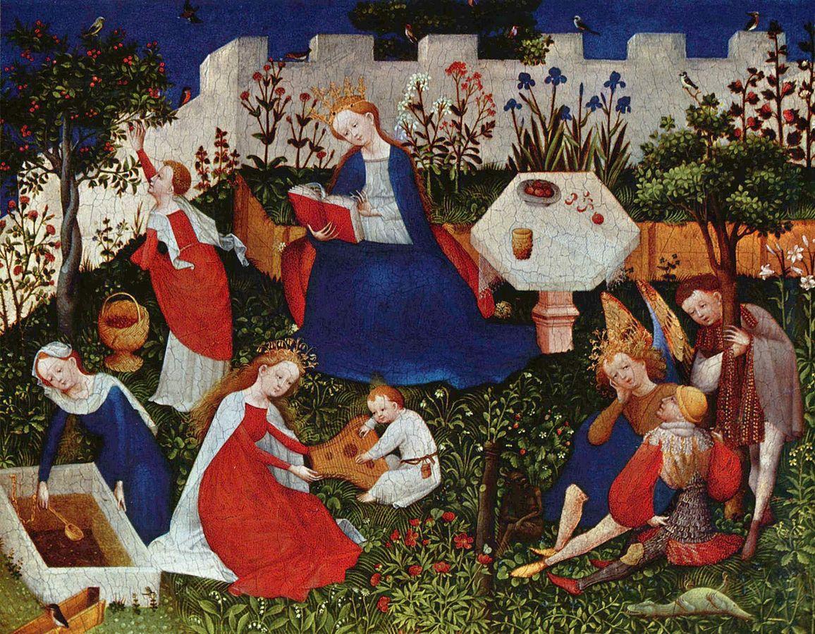 中世ヨーロッパの庭...囲われた庭、そして狩猟の庭