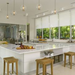 Modern Kitchen Window Treatments Shabby Chic Cabinets On A Budget Hirshfield S Contemporary