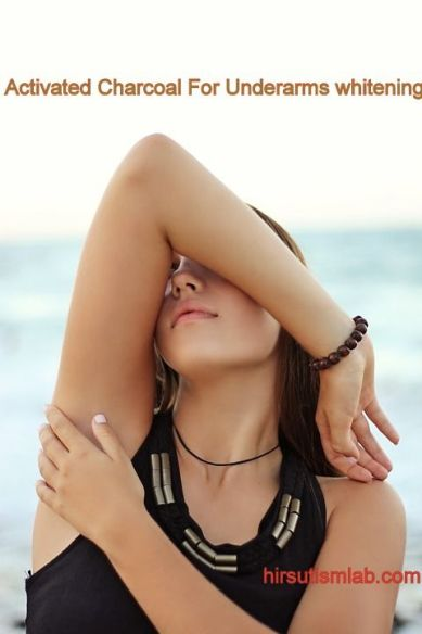 activated charcoal for underarms whitening