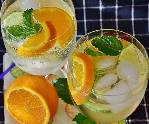 Keeps You Hydrated (lemon water before bed)