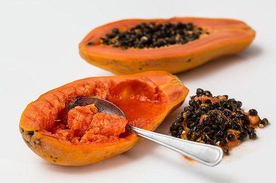 homemade papaya face mask